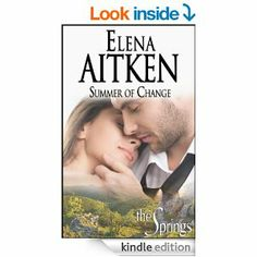 Summer of Change: Contemporary Small Town Romance (The Springs Book 1) by Elena Aitken With the Springs resort set to open in mere weeks, Trent Harrison needs to stay focused and see to every detail. The last thing he needs is a complication, even one that comes in the form of sexy bar owner, Samantha Burke.