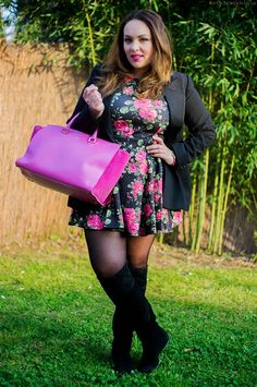 Un vestito a fiori e la mia nuova JC JackyCeline ~ Iris Tinunin - Fashion  Beauty Blogger more on www.stylosophique.com