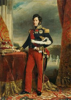 Franz Xaver Winterhalter - Portait of Louis-Philippe I (1773-1850), King of France