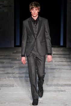 John Varvatos Fall 2012 Menswear Fashion Show