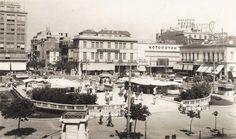 Η ιστορία της Πλατείας Ομονοίας Concorde, Athens Greece, Historical Photos, Old Photos, Paris Skyline, Documentaries, Dolores Park, The Past, Street View