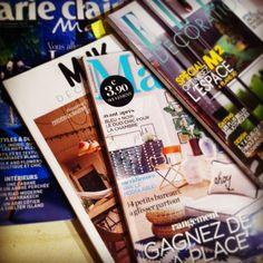 Revue de presse... Ok il y aura du bleu et du vert cet automne. #vintage lucinevintage.com