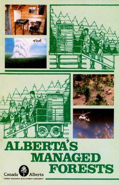 Info booklet designed for the Alberta Forest Service in Forest Resources, Booklet Design, Forest Service, Art, Kunst, Art Education, Artworks