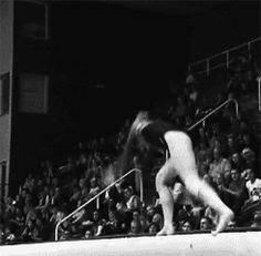 (gif of Mariya Livchikova's front aerial+front tuck) Amazing! 2 blind landings like that is crazy difficult and scary! Gymnastics Stunts, Gymnastics Images, Amazing Gymnastics, Gymnastics Videos, Artistic Gymnastics, Cheerleading, Jordyn Wieber, Nastia Liukin, Balance Beam