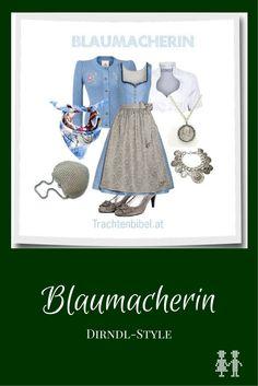 Dirndl-Style Blaumacherin zum Nachshoppen #styling #tracht #dirndl