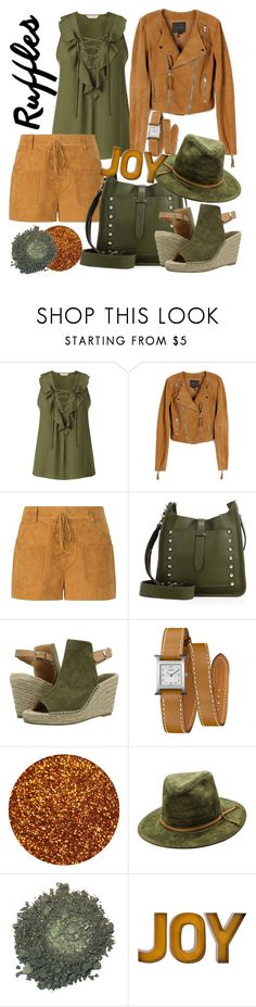 """""""Suede"""" by wiwiki-1 ❤ liked on Polyvore featuring Miss Selfridge, Paige Denim, Tory Burch, Rebecca Minkoff, Seychelles and Hermès"""