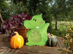Laterne Kroko Krokodil (Martinslaterne)