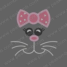 Cheap motif lace, Buy Quality motif patch directly from China iron on rhinestone motif Suppliers: 	Hot Sale Free Shipping Cute Cat Iron On Rhinestones Hotfix Motif Heat Transfer Designs 50Pcs/Lot	* Professional rhinest