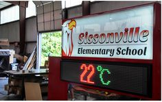 Triple Color LED Sign P10 for outdoor advertising displys and events show.