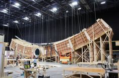 <em>Passengers'</em> Elegant Starship Is Almost as Pretty as Its Stars   Most of the move was shot on physical sets instead of green screens.   Credit: GUY HENDRIX DYAS   From Wired.com