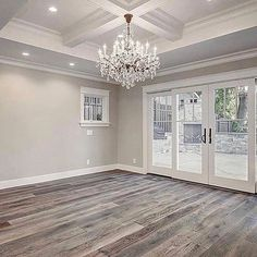 If you struggle with picking paint colors like myself, here's a lil secret... Benjamin Moore Revere Pewter never fails! This room is gorgeous even without furniture! #localrealtors - posted by Keyatta Johnson https://www.instagram.com/realestatewithkj - See more Real Estate photos from Local Realtors at https://LocalRealtors.com