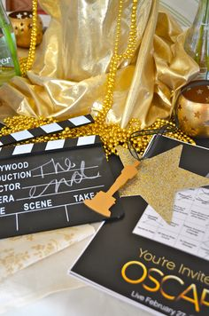 Oscar Party Planning Tips : Oscar Party Decorations Oscars, Party Like Gatsby, Harvest Party, A Little Party, Party Rock, Hollywood Theme, Movie Party, Oscar Party, Party Entertainment