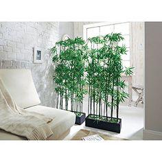 Raumteiler Kunstpflanze Bambus, Höhe ca. 140 cm