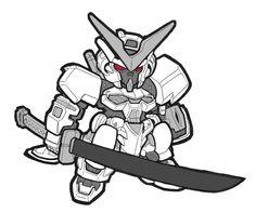 SD Gundam - Astray (white frame) by *josh308 on deviantART