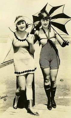 Early bathing suits!