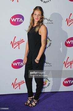 Karolina Pliskova attends the annual WTA Pre-Wimbledon Party presented by Dubai Duty Free at The Roof Gardens, Kensington on June 25, 2015 in London, England.