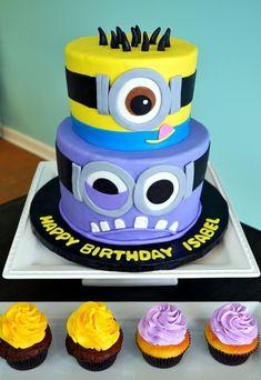 159 Besten Minion Kuchen Bilder Auf Pinterest Cookies Birthday