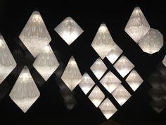 Digital crystals by Swarovski at design museum