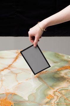 beadegiacomo:  Mid grey on marble,2013