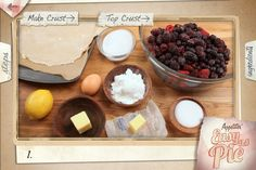 Learn to make 20 different homemade pies with step-by-step video recipes.
