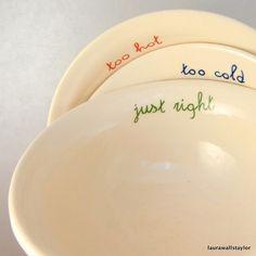 Goldilock's bowls