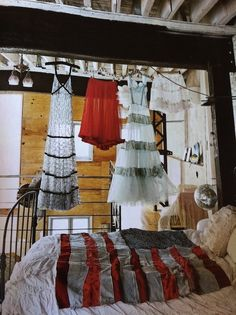 chiffon dresses  Dishfunctional Designs: Dreamy Bohemian Bedrooms: How To Get The Look
