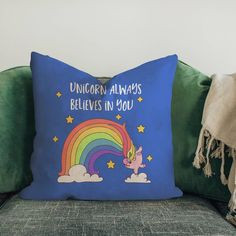 Hey Unicorn Lovers grab this Cushion cover today!