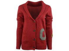Ohio State Buckeyes NCAA Women's Cardigan Sweater