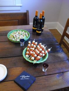 Housewarming party dessert table housewarming party for Easy housewarming party food