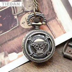 >> Click to Buy << TIEDAN Hot Sale Hollow Skull Retro Quartz Pocket Watches with Chain Necklace Vintage Watches Small Fob Watches for Unisex Gifts  #Affiliate