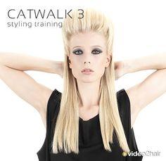 Martha Norz, mit einem Catwalk Styling. Dieses Styling wurde im Fashion-Magazin UP präsentiert. Full Step-by-Step video: https://www.video2hair.com/de/trainings/details/catwalk-3