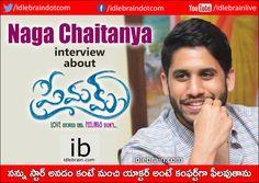Naga Chaitanya interview (Telugu) about Premam http://www.idlebrain.com/news/today/interview-nagachaitanya-premam.html