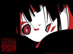 Jigoku Shoujo: Enma Ai by ~cagari on deviantART Old Anime, Manga Anime, Anime Art, Girls Characters, Anime Characters, Enma Ai, Horror, Hell Girl, Ghost In The Shell
