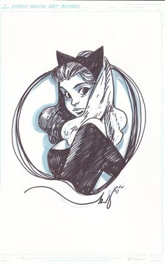 Catwoman by Becky Cloonan