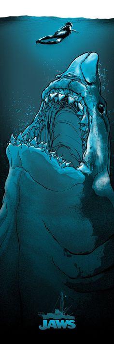 Mondo Movie Poster: Jaws