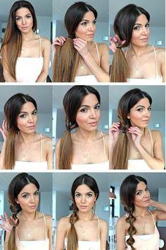 hair styles for long hair tutorials
