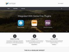 Vantage WordPress Theme Review With Download Link