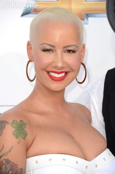 Amber Rose arrives at the 2012 Billboard Music Awards. Many amazing photos are inside.