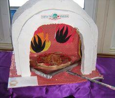 Sinterklaas surprise pizza bakoven Italië