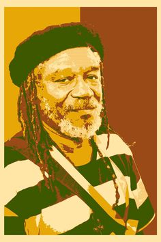 Horace Andy-sleepy-reggae-music-pop art-poster-wall art-interior decoration-khaki and orange Museum Of Fine Arts, Art Museum, Original Music, Original Art, Rastafari Art, All Star, Pop Art Poster, Reggae Music, Photo Colour