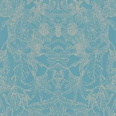 I pinned this Chinoise Wallpaper in Blue from the Graham & Brown event at Joss & Main!  lovely!