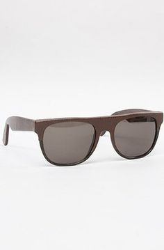 Super Sunglasses The Flat Top Small Sunglasses One Size Brown Super  Sunglasses.  352.00 c1bc0a8bd10
