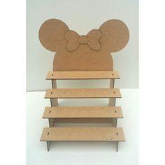 Risultati immagini per porta doces em mdf Minnie Mouse Theme Party, Fiesta Mickey Mouse, Mickey Mouse Clubhouse Birthday, Mickey Mouse Parties, Mickey Party, Mickey Mouse Birthday, Mickey Minnie Mouse, Mickey Candy Bar, Minnie Mouse Candy Bar