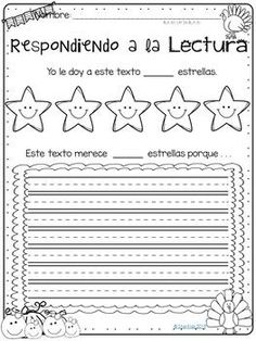 Thanksgiving Books Companion in English and Spanish by Star Kids by Naomi Thanksgiving Books, Thanksgiving Activities, English Activities, Reading Activities, Chrysanthemum Activities, Tacky The Penguin, No David, Table Of Contents Page, Dual Language Classroom