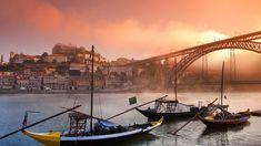 A Coruña, la ciudad de cristal | Wall Street International Magazine Porto Portugal, Portugal Travel, Plan Urbanistico, Building Concept, Beyond Beauty, Douro, Pontoon Boat, Matte Painting, Boat Building