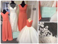 Bridal & maids from @amandawyatt
