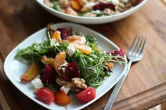 Arugula, Beet and Clementine Salad