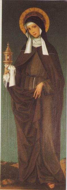 Santa Chiara d'Assisi: Founder of the Poor Clares, the female order of the Franciscans