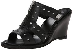 Harley-Davidson Women's Michelle Wedge Sandal >>> Stop everything and read more details here! : Wedge sandals