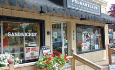 The best sandwich in all of Northern Michigan can be found at Folgarelli's deli and wine shop in Traverse City. Ask for the Godfather sandwich!